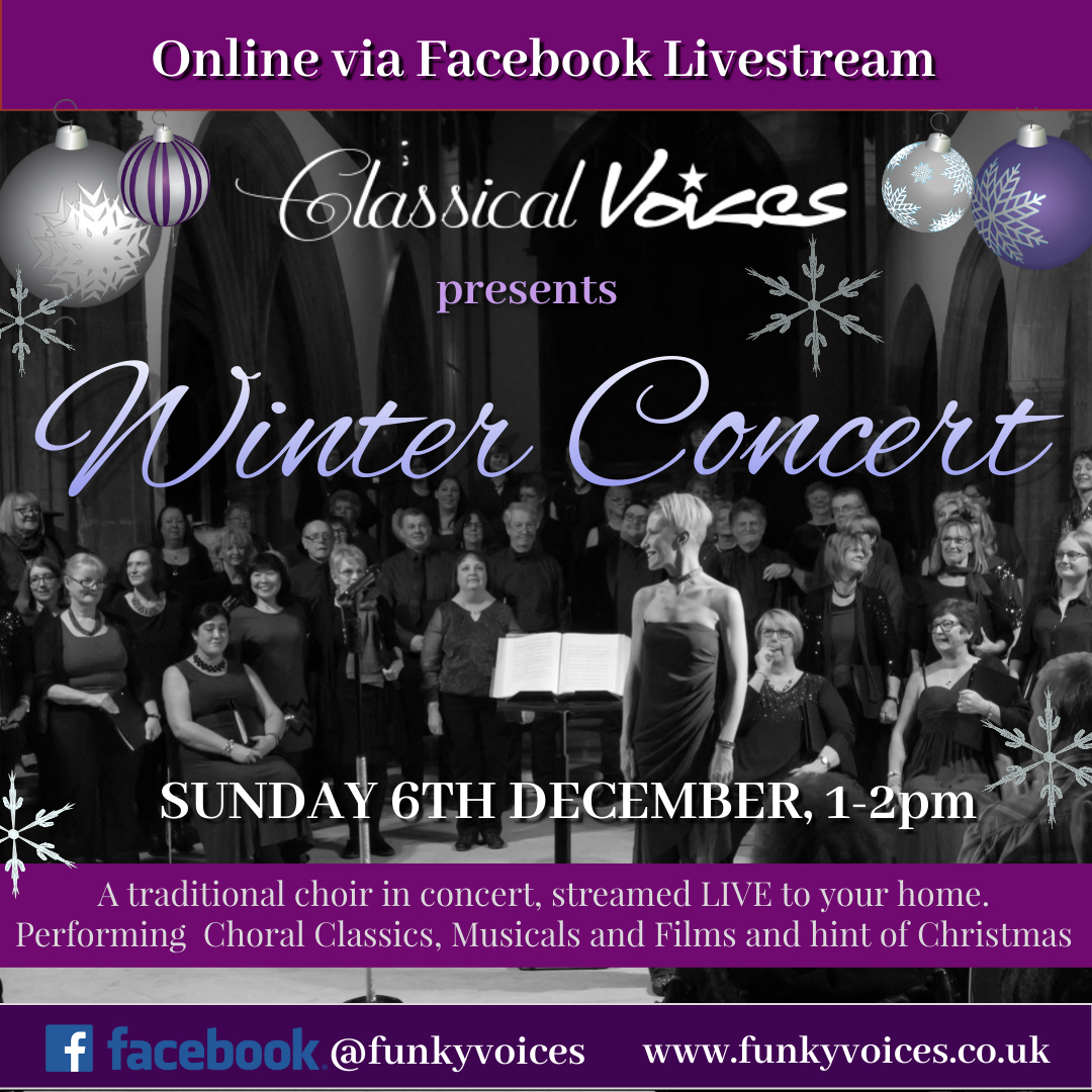 Classical Voices Choir Winter concert online 2020